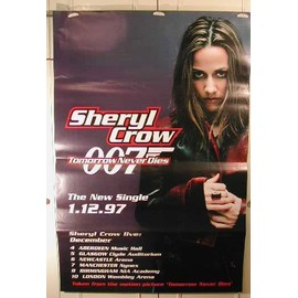 Crow Sheryl - AFFICHE MUSIQUE / CONCERT / POSTER