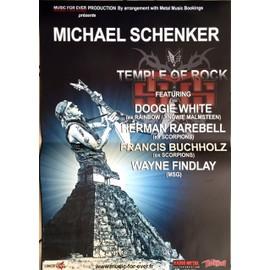 Michael SCHENKER - AFFICHE MUSIQUE / CONCERT / POSTER