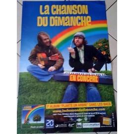 La Chanson Du Dimanche - AFFICHE MUSIQUE / CONCERT / POSTER