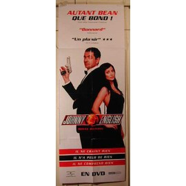 Autant Bean que Bond - Johnny English - AFFICHE MUSIQUE / CONCERT / POSTER