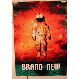 Brand New - AFFICHE MUSIQUE / CONCERT / POSTER