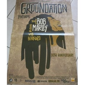 Tribute To BOB MARLEY - Reggae - AFFICHE MUSIQUE / CONCERT / POSTER