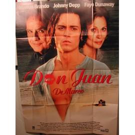 Don Juan - Johnny Depp - AFFICHE MUSIQUE / CONCERT / POSTER