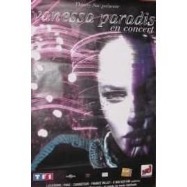 Paradis Vanessa -  En Concert - AFFICHE MUSIQUE / CONCERT / POSTER
