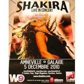 Shakira - AFFICHE MUSIQUE / CONCERT / POSTER