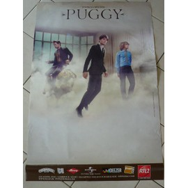 PUGGY - AFFICHE MUSIQUE / CONCERT / POSTER