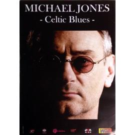 Michael JONES - AFFICHE MUSIQUE / CONCERT / POSTER