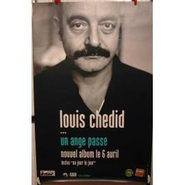 Chedid Louis - AFFICHE MUSIQUE / CONCERT / POSTER