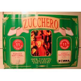 Zucchero - AFFICHE MUSIQUE / CONCERT / POSTER