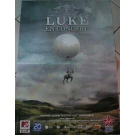 Luke - D'autre part - AFFICHE MUSIQUE / CONCERT / POSTER