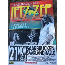 LETZ-ZEP - Led Zeppelin - AFFICHE MUSIQUE / CONCERT / POSTER