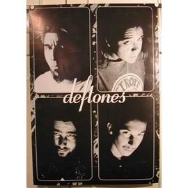 Deftones - AFFICHE MUSIQUE / CONCERT / POSTER
