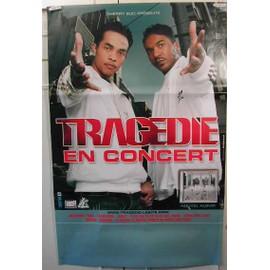 Tragedie - AFFICHE MUSIQUE / CONCERT / POSTER