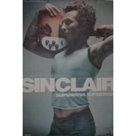 Sinclair - AFFICHE MUSIQUE / CONCERT / POSTER