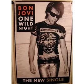 Bon Jovi - AFFICHE MUSIQUE / CONCERT / POSTER