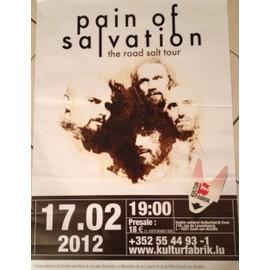 Pain Of Salvation - The Road Salt Tour - AFFICHE MUSIQUE / CONCERT / POSTER