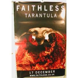 Faithless - Tarantula - AFFICHE MUSIQUE / CONCERT / POSTER