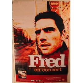 Fred - AFFICHE MUSIQUE / CONCERT / POSTER