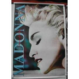 Madonna - True Blue - AFFICHE MUSIQUE / CONCERT / POSTER