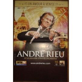 André Rieu - et le Johan Strauss Orchestra - AFFICHE MUSIQUE / CONCERT / POSTER