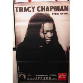 Chapman Tracy - AFFICHE MUSIQUE / CONCERT / POSTER