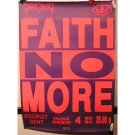 FAITH NO MORE - 38476 - AFFICHE MUSIQUE / CONCERT / POSTER