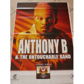 Anthony B - 2008 - AFFICHE MUSIQUE / CONCERT / POSTER