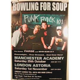 Bowling For Soup - AFFICHE MUSIQUE / CONCERT / POSTER