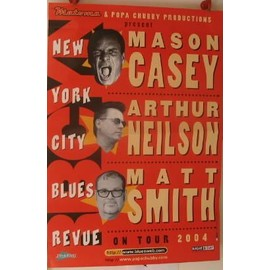Casey, Nelson, Smith - 2004 - AFFICHE MUSIQUE / CONCERT / POSTER
