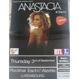 Anastacia - 2009 - AFFICHE MUSIQUE / CONCERT / POSTER
