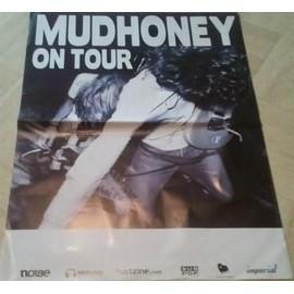 Mudhoney - On Tour - AFFICHE MUSIQUE / CONCERT / POSTER
