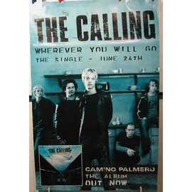 CALLING THE - AFFICHE MUSIQUE / CONCERT / POSTER