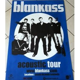 Blankass - AFFICHE MUSIQUE / CONCERT / POSTER