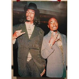 Tupac & Snoop Doggy Dogg - AFFICHE MUSIQUE / CONCERT / POSTER