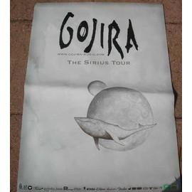 GOJIRA - AFFICHE MUSIQUE / CONCERT / POSTER