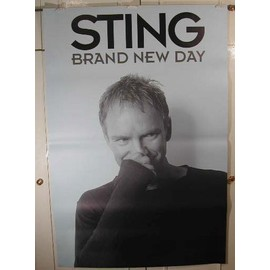 Sting - Brand new day - AFFICHE MUSIQUE / CONCERT / POSTER