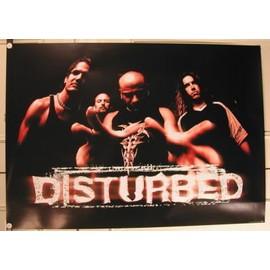 Disturbed - AFFICHE MUSIQUE / CONCERT / POSTER