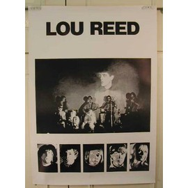 Reed Lou - AFFICHE MUSIQUE / CONCERT / POSTER