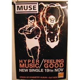 Muse - AFFICHE MUSIQUE / CONCERT / POSTER