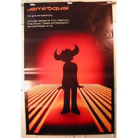 Jamiroquai - You Give Me Something - AFFICHE MUSIQUE / CONCERT / POSTER