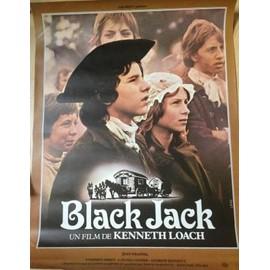 Black Jack - Kenneth Loach - AFFICHE MUSIQUE / CONCERT / POSTER