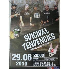 Suicidal Tendencies - AFFICHE MUSIQUE / CONCERT / POSTER