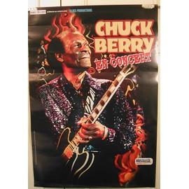 BERRY Chuck - 2003 - AFFICHE MUSIQUE / CONCERT / POSTER