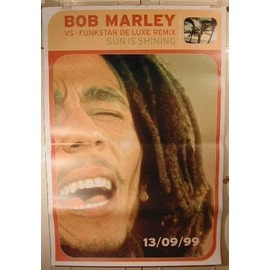 Marley Bob - Sun is Shining - AFFICHE MUSIQUE / CONCERT / POSTER