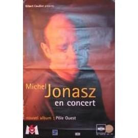 Jonasz Michel - AFFICHE MUSIQUE / CONCERT / POSTER