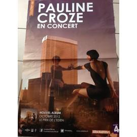Pauline Croze - AFFICHE MUSIQUE / CONCERT / POSTER