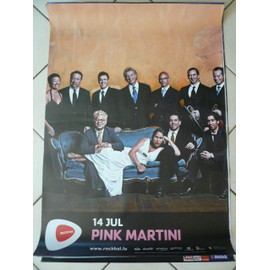 Pink Martini - AFFICHE MUSIQUE / CONCERT / POSTER