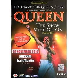 Queen - Tribute - AFFICHE MUSIQUE / CONCERT / POSTER