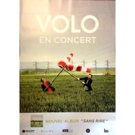 Volo - Sans Rire - AFFICHE MUSIQUE / CONCERT / POSTER