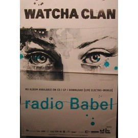Watcha Clan - 2011 - AFFICHE MUSIQUE / CONCERT / POSTER